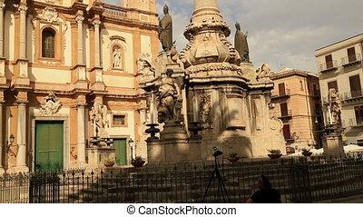 San Domenico square and church