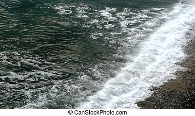 sea wave slow motion