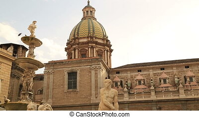 Piazza Pretoria in Palermo Sicily - Piazza Pretoria or...