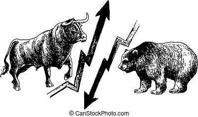 bearish and bullish market