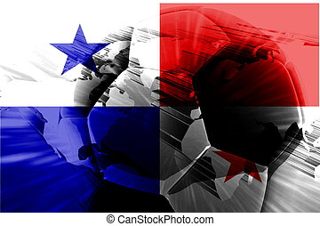 Flag of Panama soccer - Flag of Panama, national country...