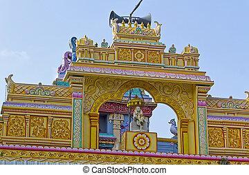 detalle, de, el, Shirdi, Sai, templo, en, Chennai,