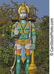 Hanuman - JAN 31, 2015, TIRUPATI, ANDHRA PRADESH, INDIA -...