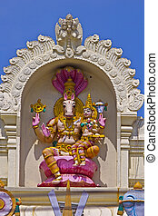 Hayagriva and Lakshmi - FEBRUARY 1, 2015, TIRUMALA, ANDHRA...