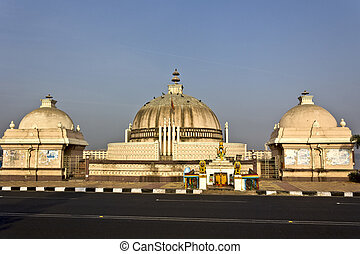 Yellamma temple - FEB 3, 2015, HYDERABAD, INDIA - Temple of...
