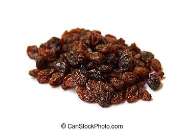 Raisins - dried raisins, organic dry raw brown raisins