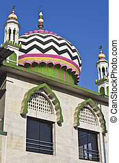Dome of mosque - Detail (dome) of Hazrat Mulla Sheikh Wali...