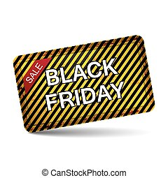 Black friday sale vector icon isolated on a white background