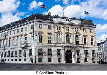 austria vienna federal chancellery - the austrian federal...