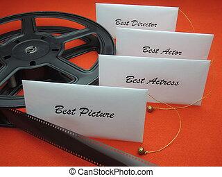 Movie awards - winner envelopes