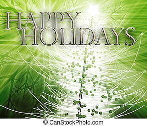 Happy holidays concept background - Merry christmas seasons...