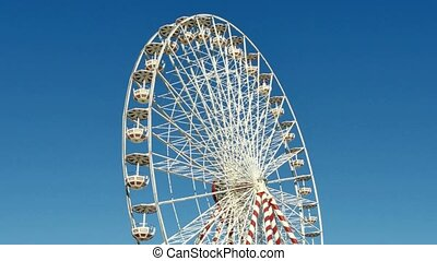 Huge Classical Fair Ferris Wheel - Ferris wheel on the banks...