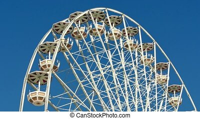 Tall Classical Fair Ferris Wheel - Ferris wheel on the banks...