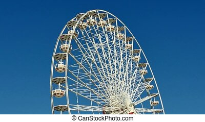 Great Classical Fair Ferris Wheel - Ferris wheel on the...