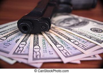 Gun, drugs and money