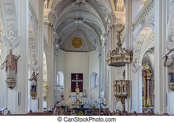 St. Andreas, Dusseldorf, Germany - The Church of St. Andreas...