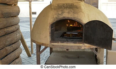 Ceramic Large Bread Oven - Traditional large ceramic built...