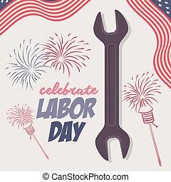 Labor Day design - Labor day digital design, vector...