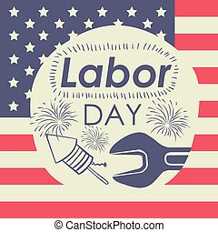 Labor Day design - Labor day digital design, vector...