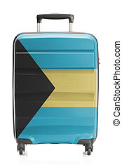 Suitcase with national flag series - Bahamas - Suitcase...