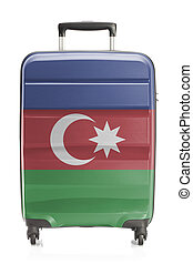 Suitcase with national flag series - Azerbaijan - Suitcase...