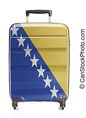 Suitcase with national flag series - Bosnia and Herzegovina...