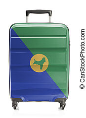 Suitcase with national flag series - Christmas Island -...