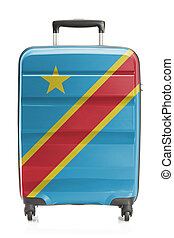 Suitcase with national flag series - Congo-Kinshasa -...