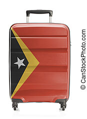 Suitcase with national flag series - East Timor - Suitcase...