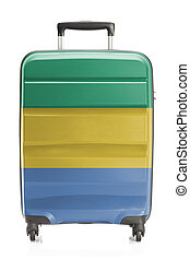 Suitcase with national flag series - Gabon - Suitcase...