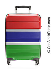 Suitcase with national flag series - Gambia - Suitcase...