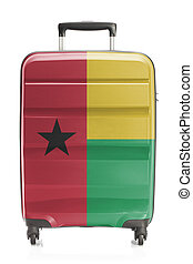 Suitcase with national flag series - Guinea-Bissau -...