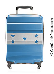 Suitcase with national flag series - Honduras - Suitcase...