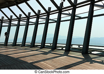the observation level of macau tower