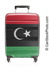 Suitcase with national flag series - Libya - Suitcase...