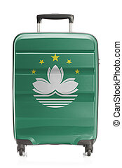 Suitcase with national flag series - Macau - Suitcase...