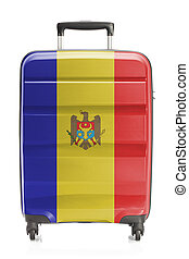Suitcase with national flag series - Moldova - Suitcase...