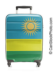 Suitcase with national flag series - Rwanda - Suitcase...
