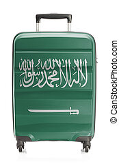 Suitcase with national flag series - Saudi Arabia