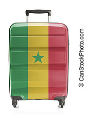 Suitcase with national flag series - Senegal - Suitcase...