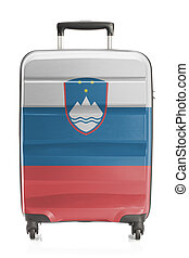 Suitcase with national flag series - Slovenia - Suitcase...