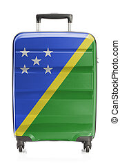 Suitcase with national flag series - Solomon Islands -...