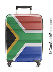 Suitcase with national flag series - South Africa - Suitcase...
