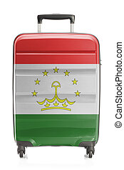 Suitcase with national flag series - Tajikistan - Suitcase...