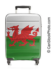 Suitcase with national flag series - Wales - Suitcase...