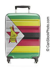 Suitcase with national flag series - Zimbabwe - Suitcase...
