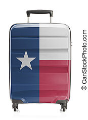 Suitcase with US state flag series - Texas