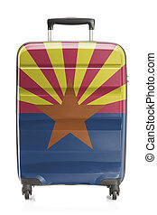 Suitcase with US state flag series - Arizona - Suitcase...