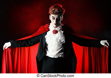 fascinating dracula - Bewitching handsome male vampire...