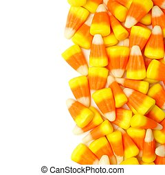 Halloween candy corn border - Halloween candy corn vertical...